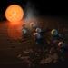 Enerjetik parçacıklar dış gezegenleri bombalayabilir…